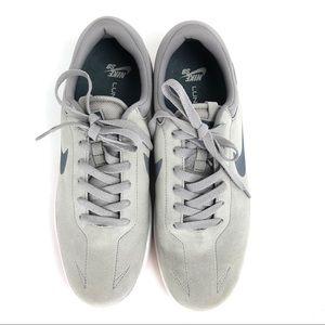 Nike Men's SB Eric Koston 1 Gray Suede Sneaker
